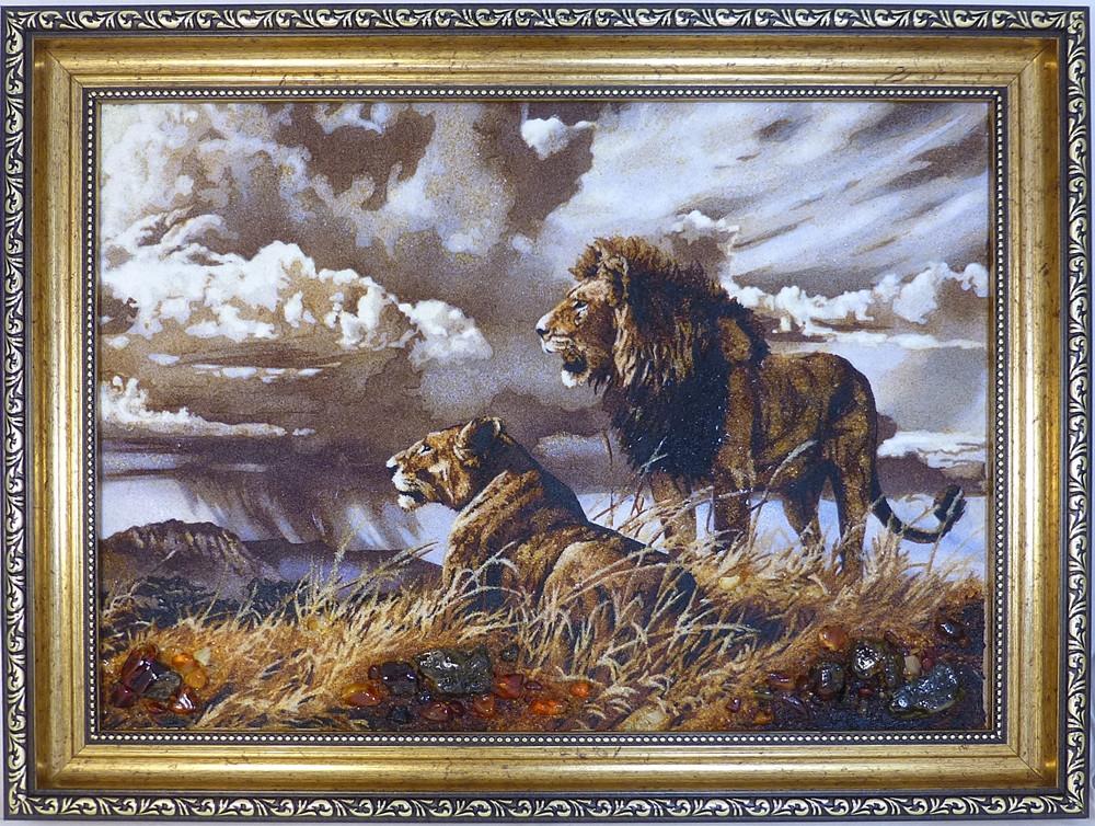 Панно Гранд Презент Пара львів 30х40 см (hub_KVAd61898)
