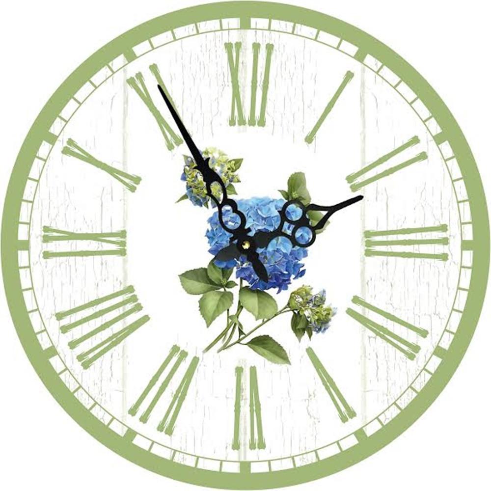 Годинники настінні Гранд Презент ГОРТЕНЗІЯ 34 см (d3422)