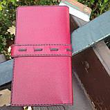 Жіночий гаманець «Агат» з натуральної шкіри, фото 2