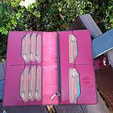 Жіночий гаманець «Агат» з натуральної шкіри, фото 5