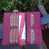 Жіночий гаманець «Агат» з натуральної шкіри, фото 6