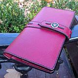 Жіночий гаманець «Агат» з натуральної шкіри, фото 3