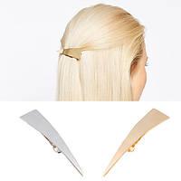Заколка автоматик для волос Стрела (цвет золото или серебро), фото 1