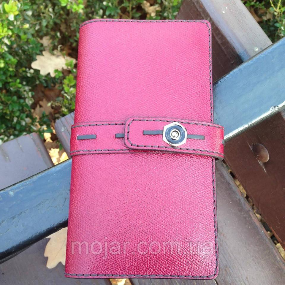 Жіночий гаманець «Агат» з натуральної шкіри