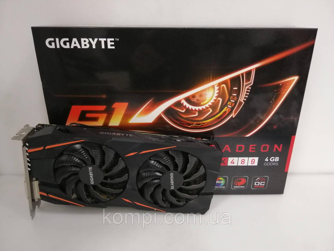 Видеокарта Gigabyte Gaming G1 RX480 4GB / Майнинг
