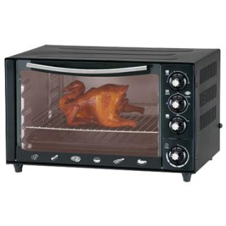Електропіч VIMAR VEO-3725B, Тип духовки: электрическая, Мощность: 1600 Вт, Управление: механическое, Объем: 37 л, Количество режимов нагрева: 5,