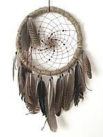 """Ловец снов """"Индеец"""",диаметр 40см"""