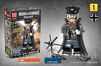Фигурки Немецкая Армия, зенитный расчет, конструктор, фото 3