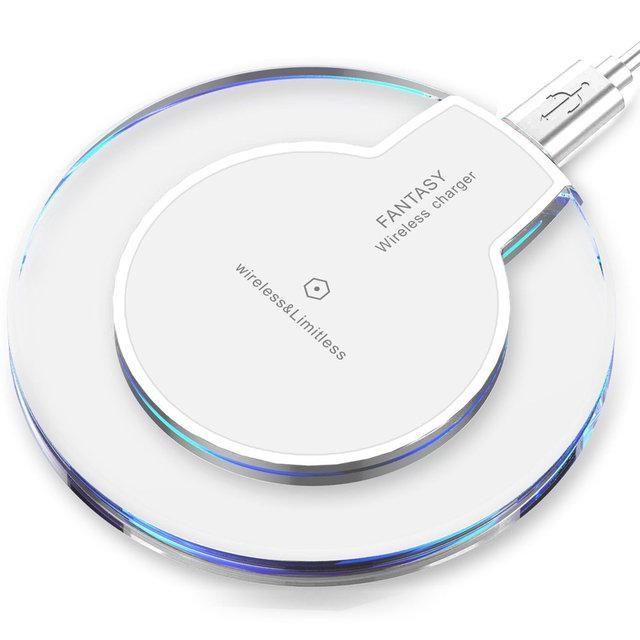 Бездротове зарядний пристрій Fantasy White (hub_qqwg60491)