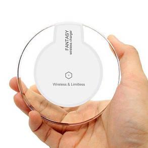 Бездротове зарядний пристрій Fantasy White (hub_qqwg60491), фото 2