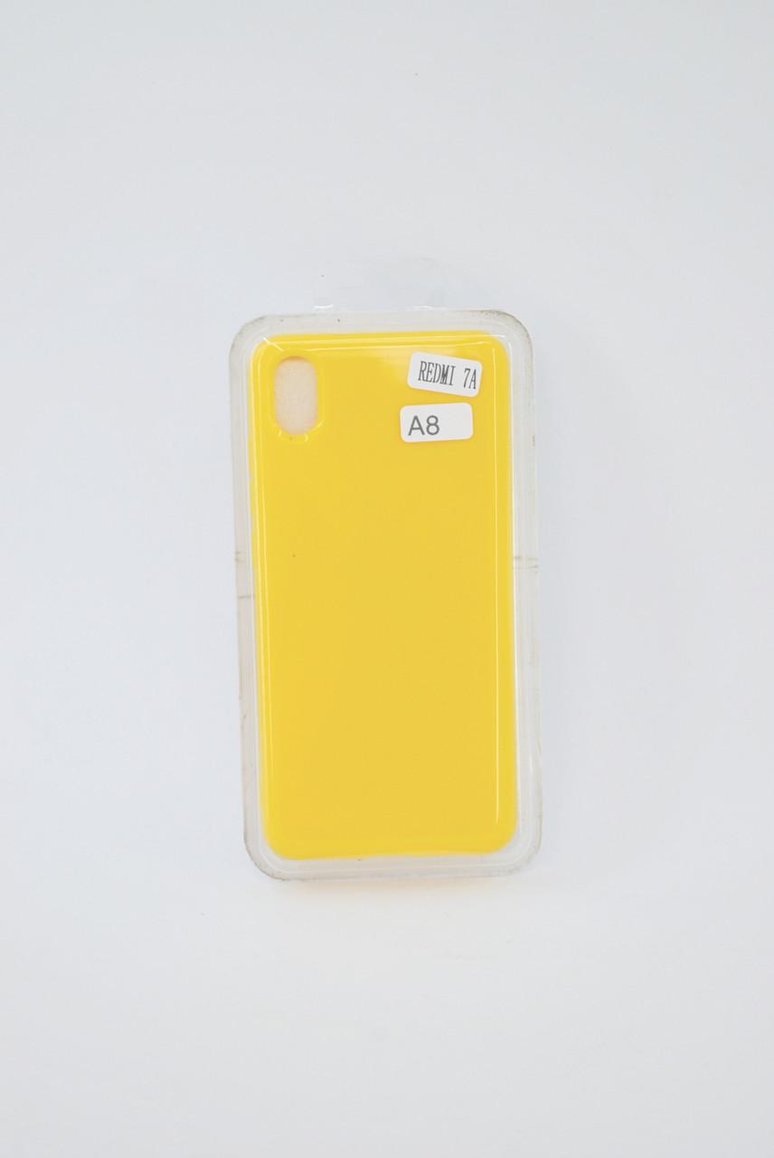 Чехол Xiaomi Redmi Note 8 Silicone Profit yellow E8