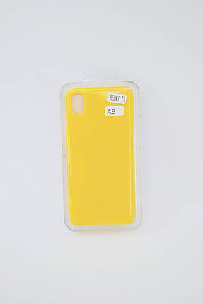 Чехол Xiaomi Redmi Note 8 Silicone Profit yellow E8, фото 2