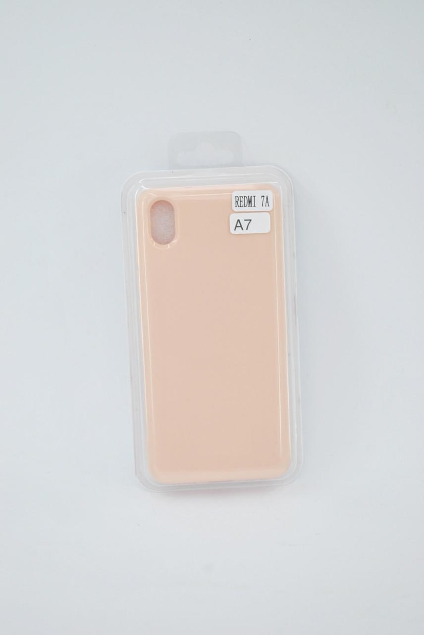 Чехол Xiaomi Redmi Note 8Pro Silicone Profit light pink E7