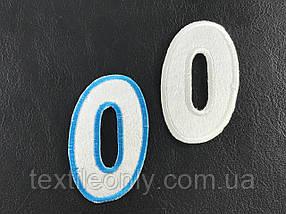 Нашивка Цифра 0 40х70 мм