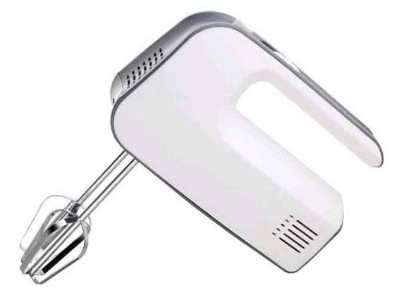 Міксер ASTOR HM-1717 ручної Білий з сірим (269563), фото 2