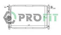 Радиатор охлаждения на DAEWOO LANOS 1.5 и 1.6 16V с кондиционером (PROFIT)