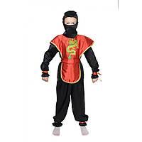 """Карнавальный костюм Ниндзи, Ниндзяго на мальчика 110-134 см """"KARNAVAL"""" купить недорого от прямого поставщика"""
