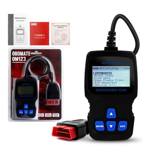 Диагностический сканер OBD Autophix OBDMATE OM123