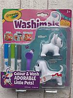 Рисуй и смывай 2 собачки, Washimals, Crayola 374-7252