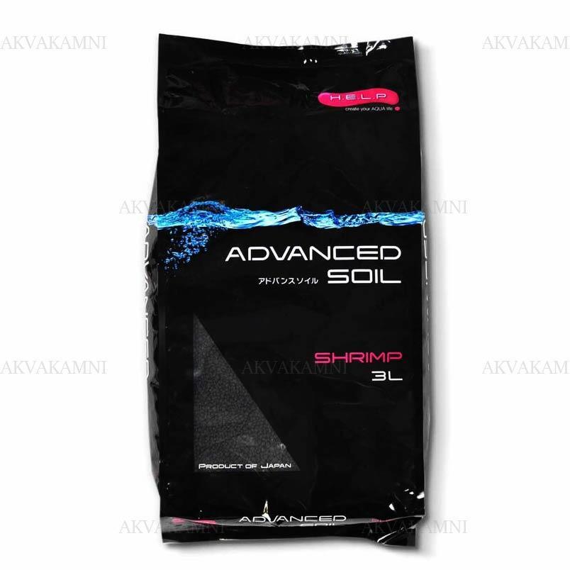 AQUAEL Advanced soil shrimp 3л - грунт для креветочников