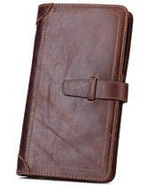 Портмоне кошелек мужской кожаный Deep Person art 9121