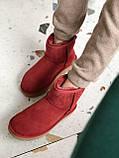 Женские Ugg угги на меху RED, фото 4