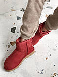 Женские Ugg угги на меху RED, фото 2