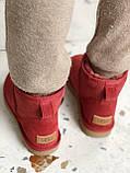 Женские Ugg угги на меху RED, фото 5