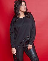 Женский костюм двойка брюки+туника большого размера.Размеры:50,52,54,56.+Цвета, фото 1