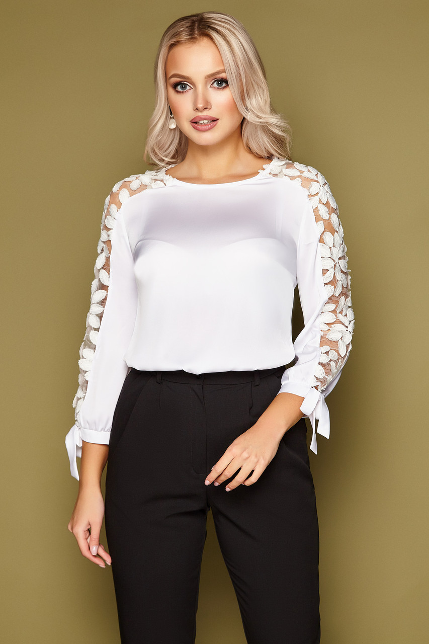 Блуза Флавия д/р (2 расцветки)