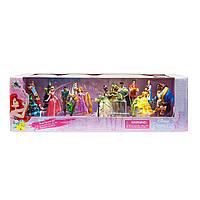 Набір з 20 фігурок Disney Рапунцель Бель Тіана Спляча красуня