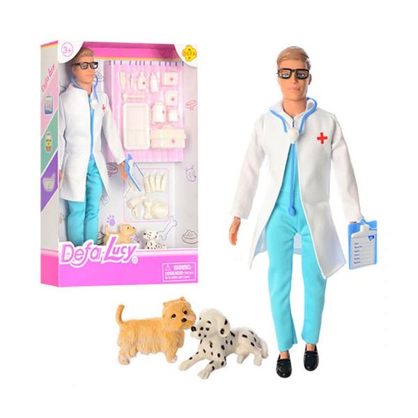 Лялька з аксесуарами DEFA Доктор (8346B)