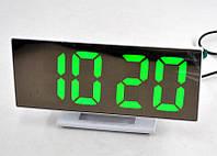 Электронные LED часы с зеркальным дисплеем DS-3618L