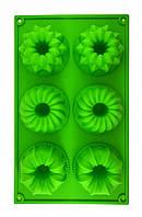 Силиконовая форма для кекса с серединкой Ассорти, фото 1