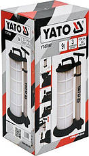 Ручной вакуумный насос 9 л YATO YT-07087, фото 2