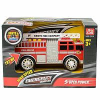 Игрушечная пожарная машина Emergency (свет, звук) LD2016B
