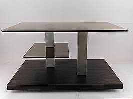 Стол журнальный стеклянный Plato mini lux BB V (800*500*455)