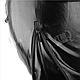 Маска виниловая черная BDSM, фото 4
