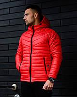 Мужская зимняя куртка Найт красная