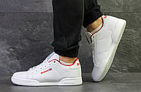 Мужские кроссовки в стиле Reebok Classic White, белые 44 (28 см)