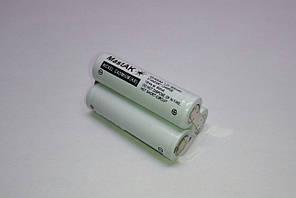 Аккумуляторная сборка 3,6V 600mAh (Ni-Cd) 2+1