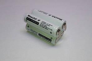 Аккумуляторная сборка 4,8V 600mAh (Ni-Cd) 2+2