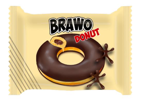 "Донат ""Bravo"" шоколад 50 гр"