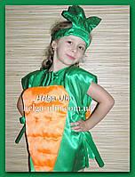 """Карнавальний костюм """"Морква"""", """"Морквинка"""". Прокат по Україні, фото 1"""