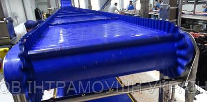 Монолітні транспортерні стрічки Habasit Cleandrive з поліуретану