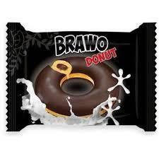 "Донат ""Bravo"" в черном шоколаде 50 гр 24 шт"