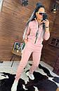 Женский утепленный спортивный костюм с бомбером на молнии 44so815, фото 2