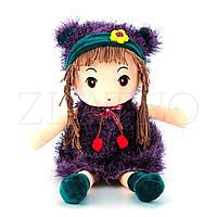 М'яка Іграшка Лялька в Фіолетовому - 44 см