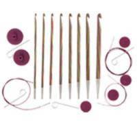 20735 Набор деревянных тунисских крючков для вязания Symfonie  Wood  KnitPro