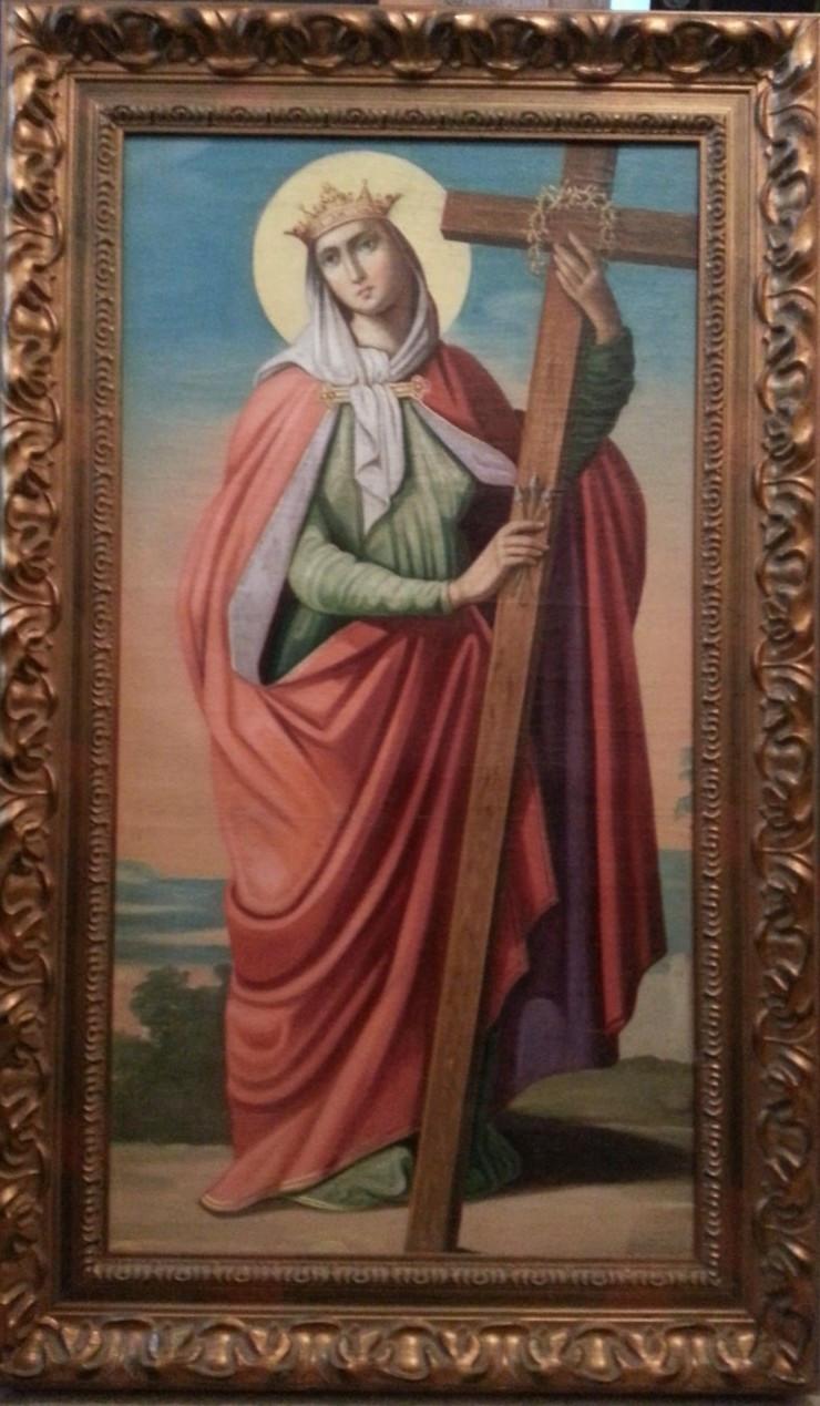 Ікона св. Олена 19 століття